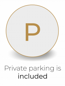 Private parking is included