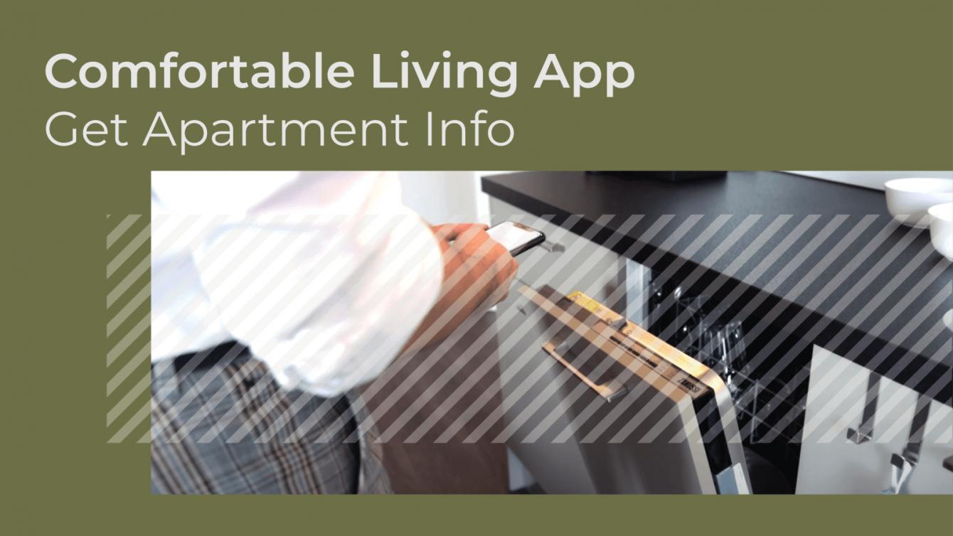 Comfortable Living App - Get apartment info