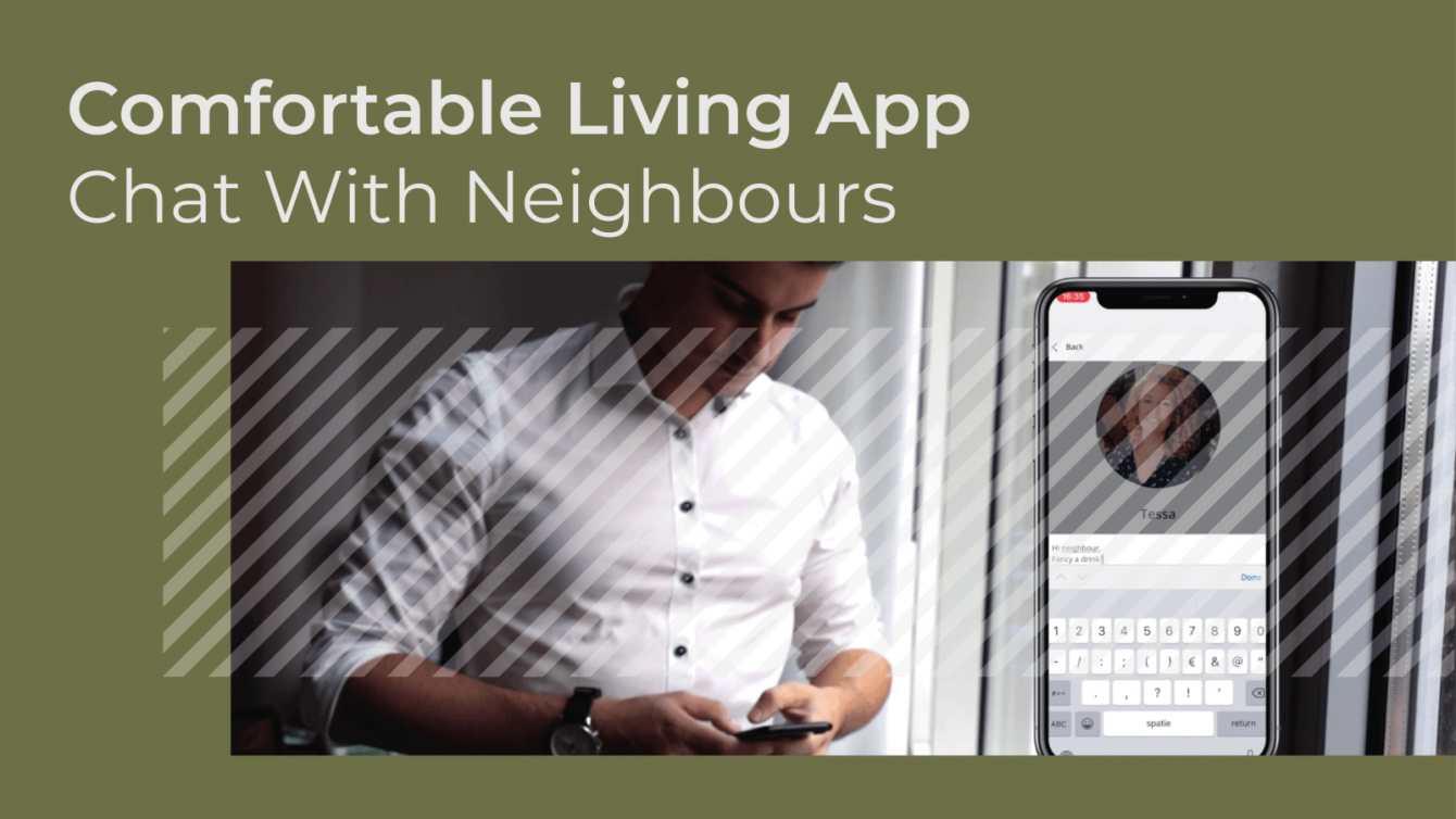 Comfortable Living App - Chat with neighbours
