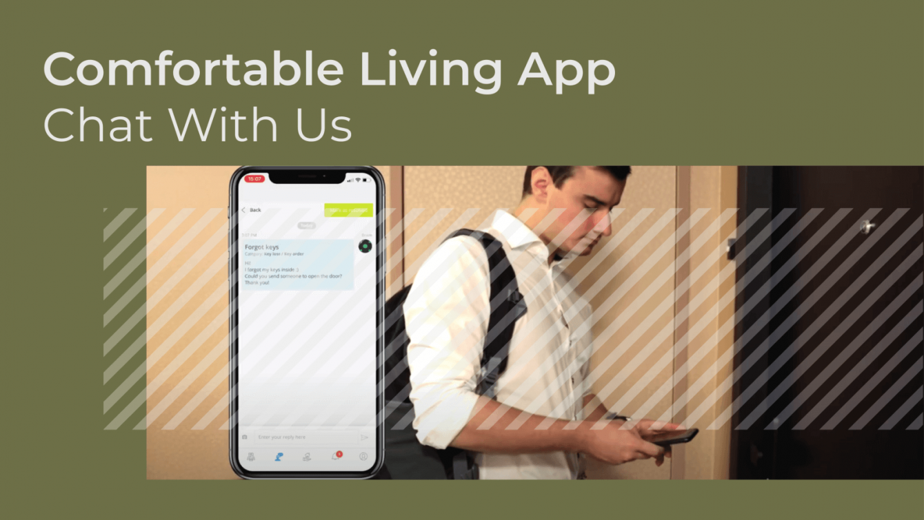 Comfortable Living App - Chat with us