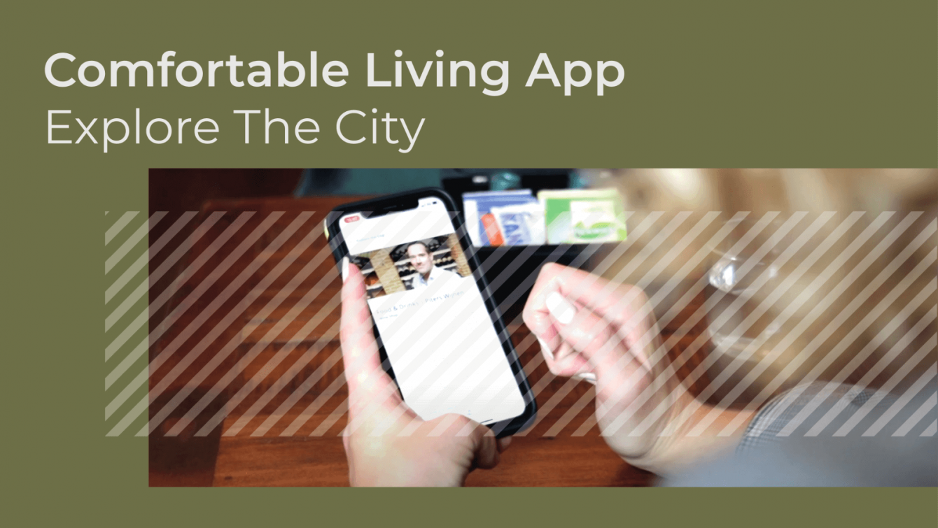 Comfortable Living App - Explore the city